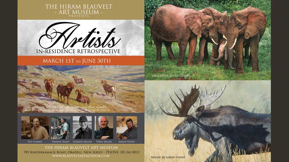 Hiram Blauvelt Artists in Residence Retrospective
